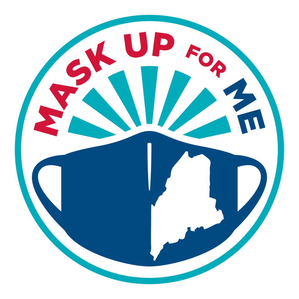 mask up for me graphic
